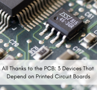 cover of '3 Devices that depend on printed circuit boards'